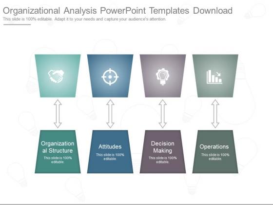 Organizational Analysis Powerpoint Templates Download