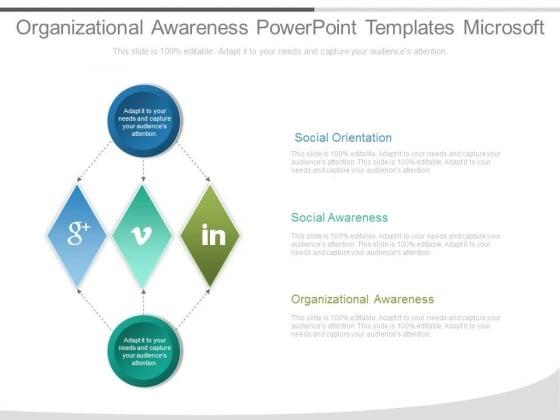 Organizational Awareness Powerpoint Templates Microsoft