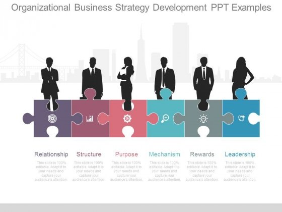 Organizational Business Strategy Development Ppt Examples