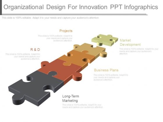 Organizational Design For Innovation Ppt Infographics
