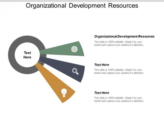 Organizational Development Resources Ppt PowerPoint Presentation Professional Graphics Cpb