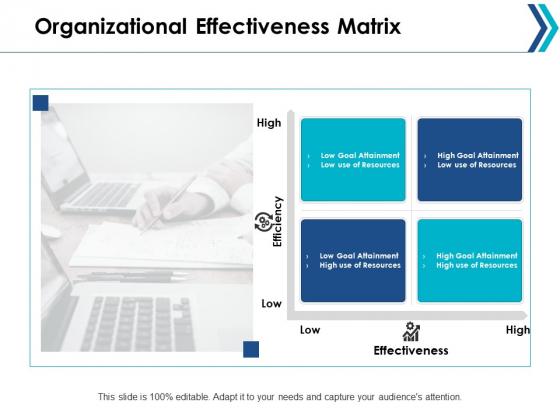 Organizational Effectiveness Matrix Ppt Powerpoint Presentation Professional Guidelines