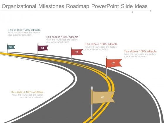 Organizational Milestones Roadmap Powerpoint Slide Ideas