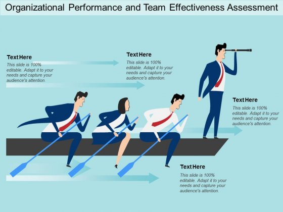 Organizational Performance And Team Effectiveness Assessment Ppt Powerpoint Presentation Model Templates
