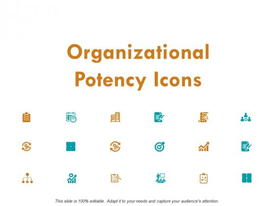 Organizational Potency Icons Ppt PowerPoint Presentation Infographic Template Backgrounds