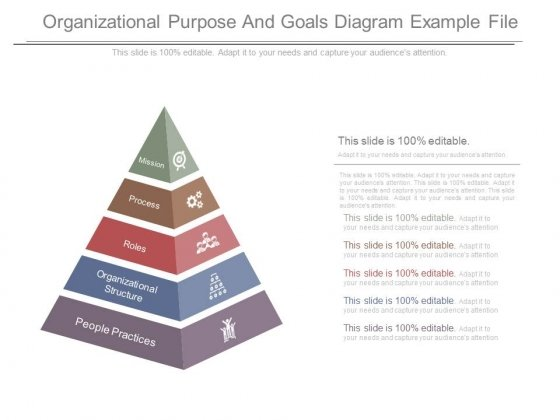 Organizational Purpose And Goals Diagram Example File