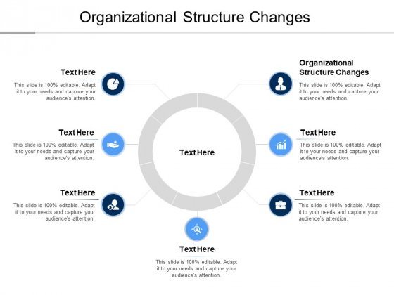 Organizational Structure Changes Ppt PowerPoint Presentation Infographic Template Background Images Cpb