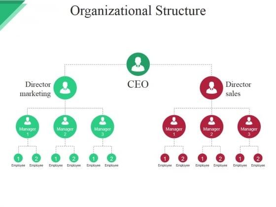 Organizational Structure Ppt PowerPoint Presentation Show Slides