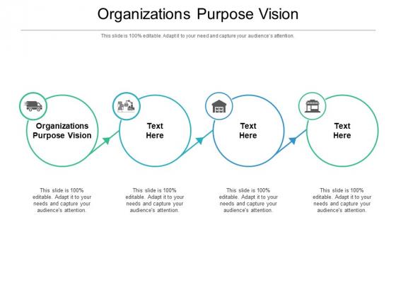 Organizations Purpose Vision Ppt PowerPoint Presentation Summary Visuals Cpb