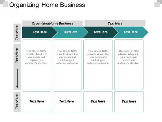 Organizing Home Business Ppt PowerPoint Presentation Portfolio Shapes Cpb