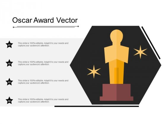 Oscar Award Vector Ppt PowerPoint Presentation Inspiration Influencers