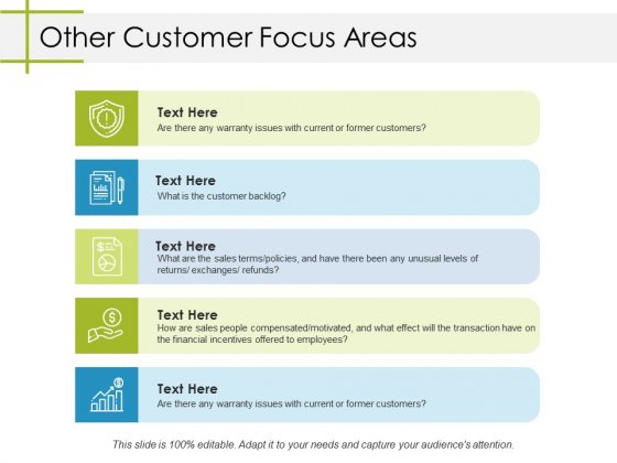 Other Customer Focus Areas Ppt PowerPoint Presentation Styles Graphics Example