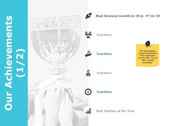 Our Achievements Management Ppt PowerPoint Presentation Summary Graphics Tutorials