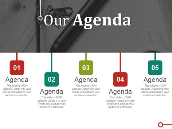 Our Agenda Ppt PowerPoint Presentation Gallery Graphics