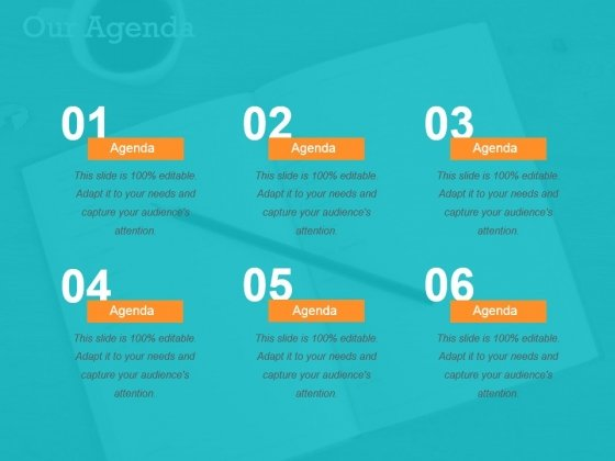 Our Agenda Ppt PowerPoint Presentation Gallery Objects