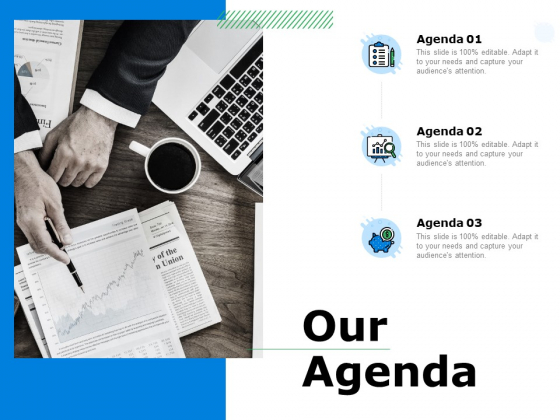 Our Agenda Ppt PowerPoint Presentation Infographic Template Topics