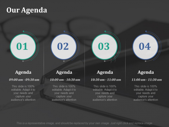 Our Agenda Ppt PowerPoint Presentation Infographics Mockup