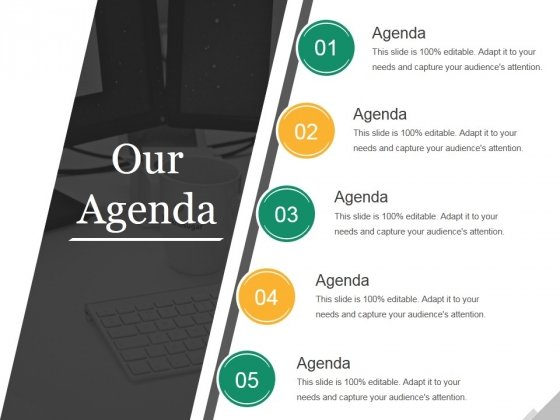 Our Agenda Ppt PowerPoint Presentation Styles Slides