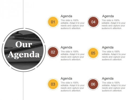 Our Agenda Ppt PowerPoint Presentation Visuals
