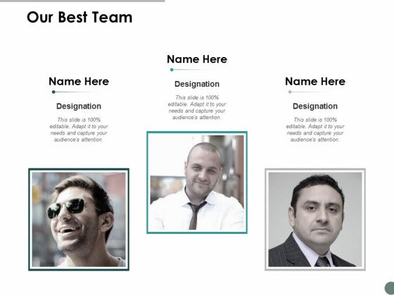 Our Best Team Communication Ppt Powerpoint Presentation Inspiration Graphics Design