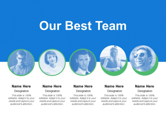 Our Best Team Introduction Ppt PowerPoint Presentation Ideas Images