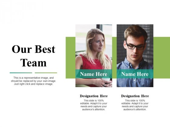 Our Best Team Ppt PowerPoint Presentation Professional Example Topics