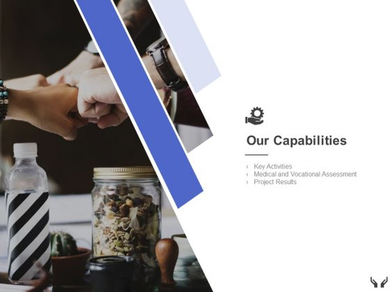 Our Capabilities Activities Ppt Powerpoint Presentation Gallery Slideshow