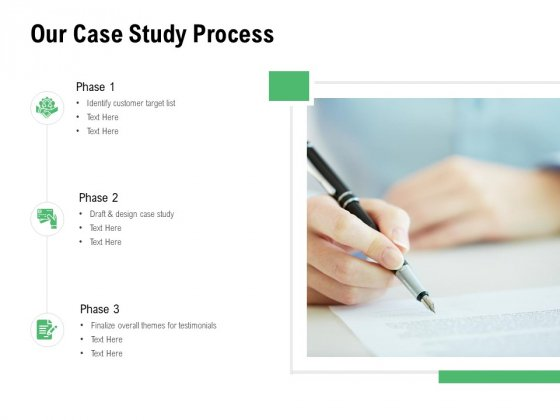 Our Case Study Process Ppt PowerPoint Presentation Gallery Graphic Tips