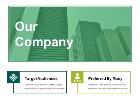 Our Company Ppt PowerPoint Presentation Portfolio Ideas