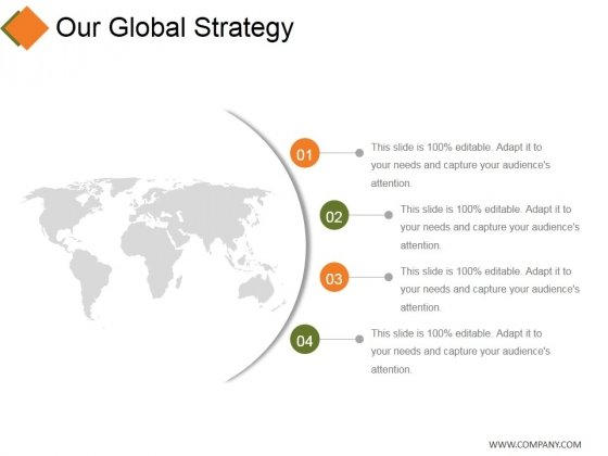 Our Global Strategy Ppt PowerPoint Presentation Icon Slideshow