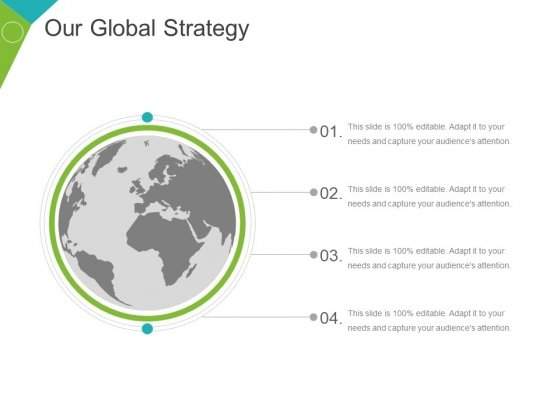 Our Global Strategy Ppt PowerPoint Presentation Ideas