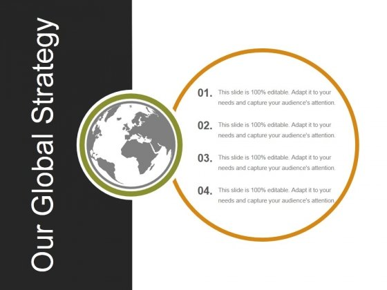 Our Global Strategy Ppt PowerPoint Presentation Slides Example