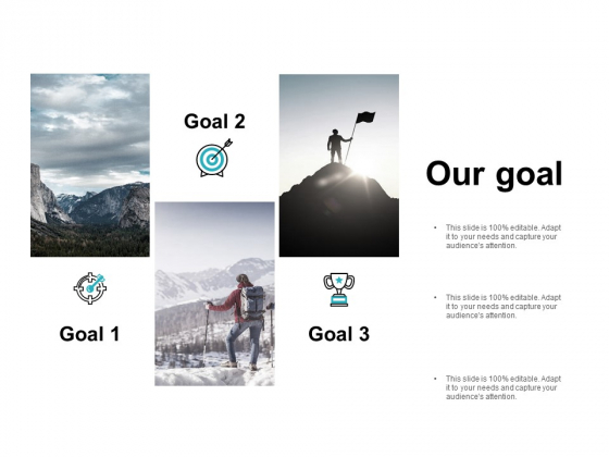 Our Goal Acheivements Ppt PowerPoint Presentation Influencers