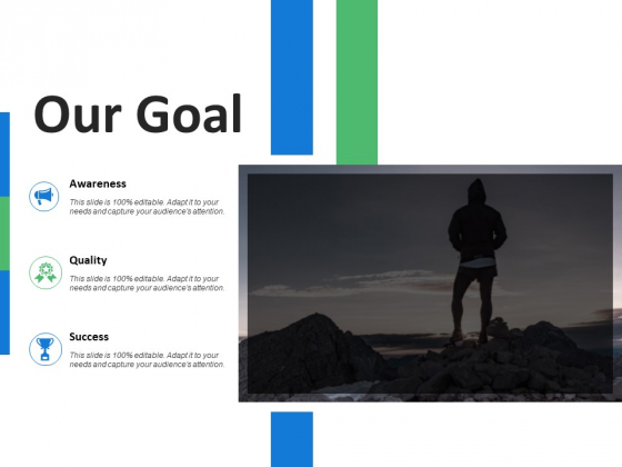 Our Goal And Target Ppt PowerPoint Presentation Visual Aids Outline
