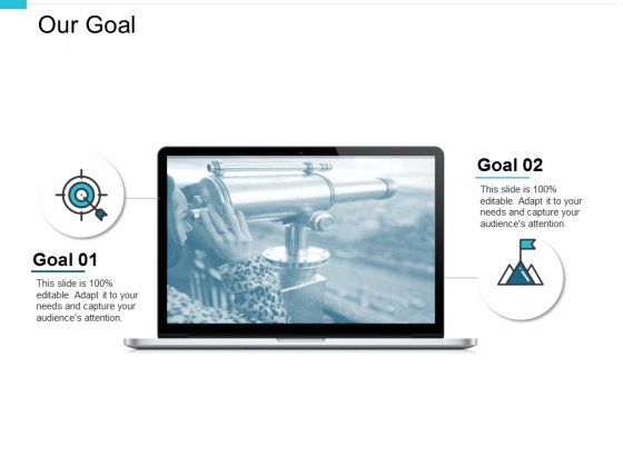 Our Goal Arrow Ppt PowerPoint Presentation Gallery Example