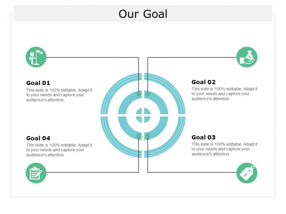 Our Goal Arrow Ppt Powerpoint Presentation Styles Influencers