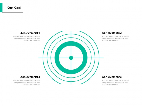 Our Goal Arrows Ppt PowerPoint Presentation Show Influencers