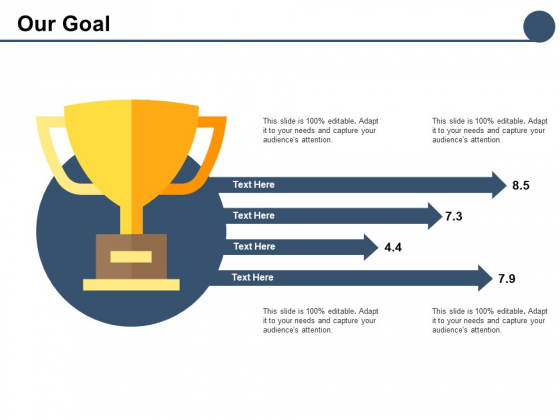 Our Goal Business Planning Ppt PowerPoint Presentation Layouts Professional