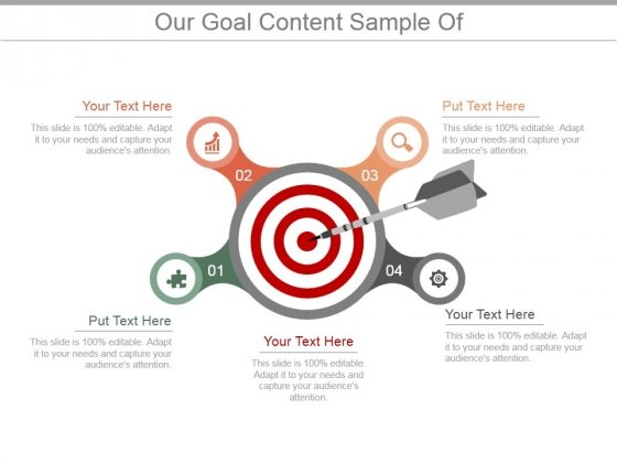 Our Goal Content Ppt PowerPoint Presentation Picture