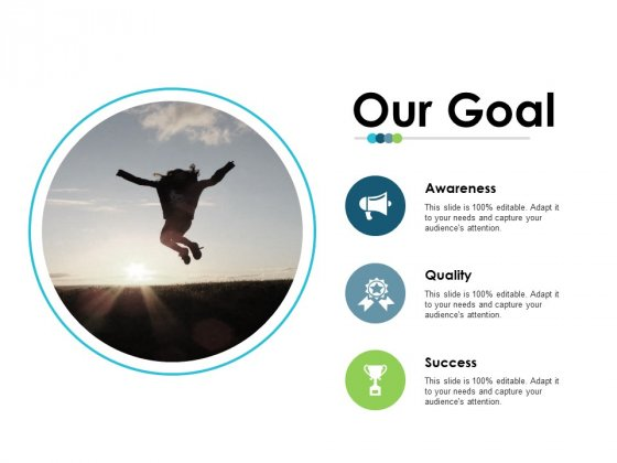 Our Goal Employee Value Proposition Ppt PowerPoint Presentation Slides Backgrounds