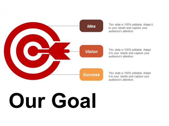 Our Goal Idea Vision Success Ppt Powerpoint Presentation Summary Model