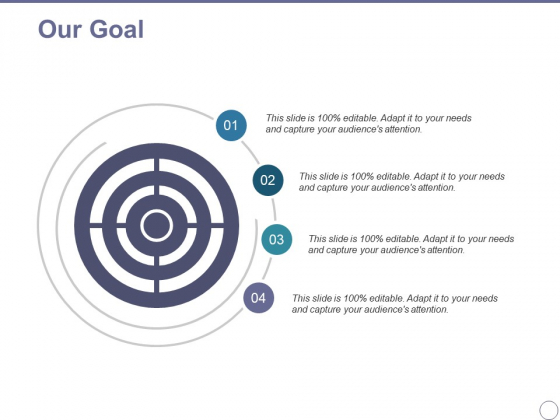 Our Goal Ppt PowerPoint Presentation Diagram Images