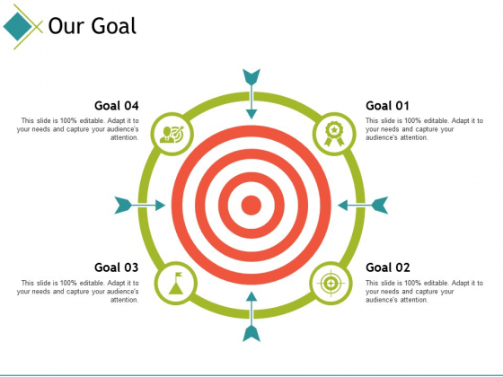Our Goal Ppt PowerPoint Presentation File Backgrounds