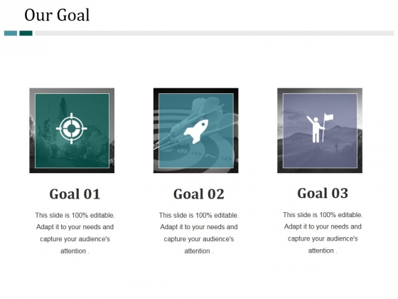 Our Goal Ppt PowerPoint Presentation File Brochure