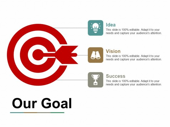 Our Goal Ppt PowerPoint Presentation Gallery File Formats