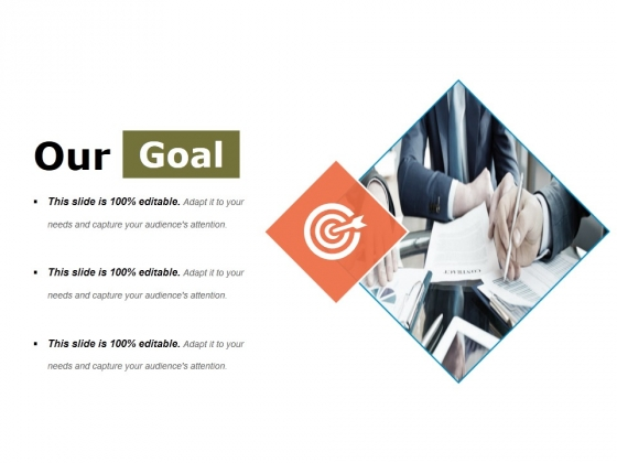 Our Goal Ppt PowerPoint Presentation Gallery Images