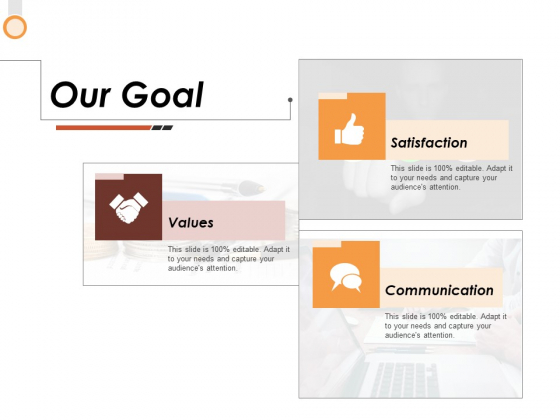 Our Goal Ppt PowerPoint Presentation Gallery Infographics