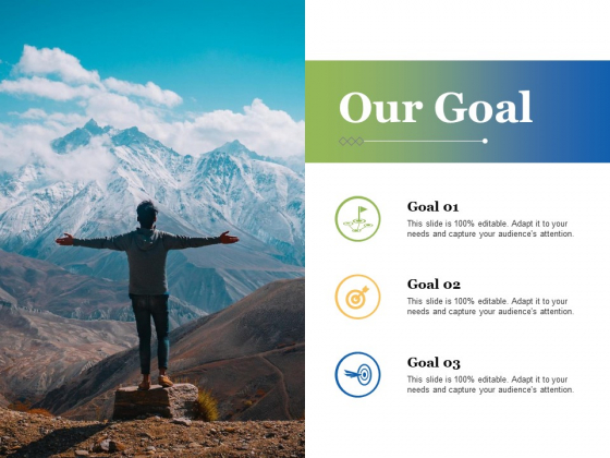 Our Goal Ppt PowerPoint Presentation Gallery Outline