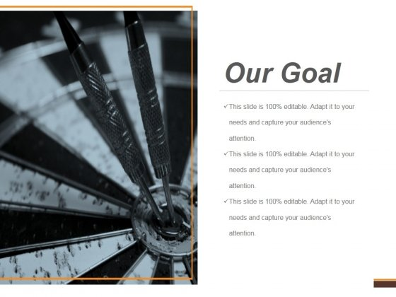 Our Goal Ppt PowerPoint Presentation Guidelines