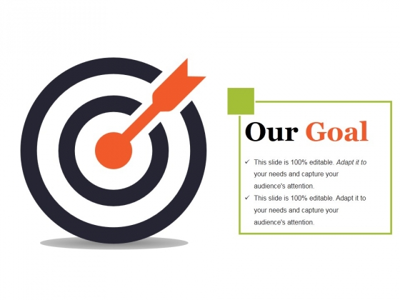 Our Goal Ppt PowerPoint Presentation Icon Ideas